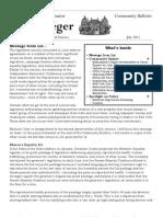 Community Bulletin - July 2013