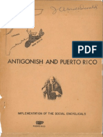 ANTIGONISH and PUERTO RICO Implementation of the Social Encyclicals. by J.a. MacDonald