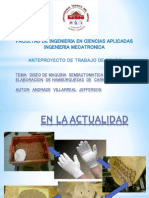 EXPOSICION MÁQUINA SEMIAUTOMÁTICA HAMBURGUESAS