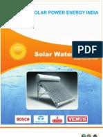 Spei - Solar Water Heater