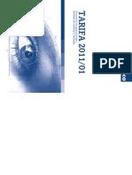 Metazinco Tarifa 2011-01