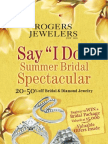 Rogers Jewelers Summer 2009 Catalog