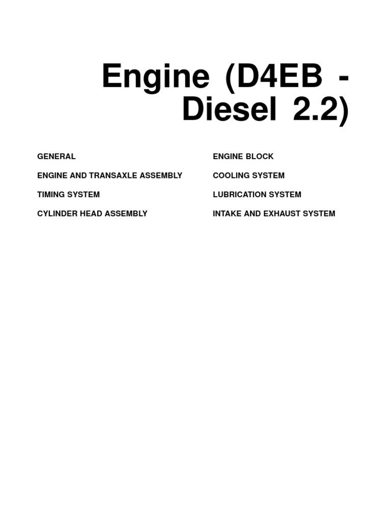 Hyundai d4eb empdf piston cylinder engine fandeluxe Images