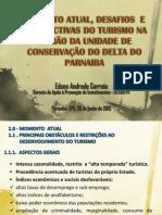 Momento Atual - Desafios e Pespectivas Do Turismo Apa Do Delta - Edso