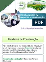 O uso de energias em Unidades de Conservação