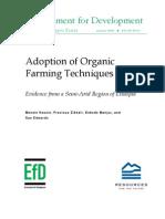 Adoption of Organic Farming Techniques-EthiopiaCaseStudy