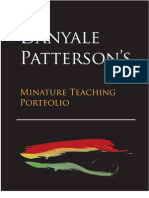 Danyale Patterson's Teaching Portfolio