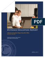 Caifornia Community Colleges (CCC) Distance Learning Report (2011)