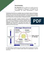 TEORÍAS DE LIDERAZGO SITUACIONAL
