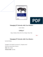 O'Reilly - Managing Ip Networks With Cisco Routers