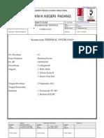 Karakteristik Thermal Over Loadpoliteknik Negeri Padang1