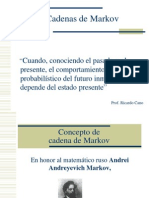 Cadenas de Markov IO2[1]
