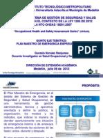 Plan Maestro de Emergencia Empresarial (Julio_2013)