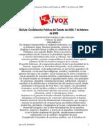 BO-CPE-Constitución de Bolivia