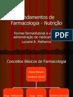 Aula Formas Farmaceuticas