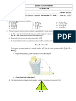 Taller- ecuación cuadrática  9°