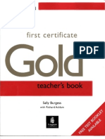 37100107 First Certificate Gold Teacher s Book