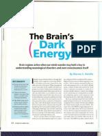 Default Mode Network Dark-Energy@0