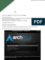 Instalando o ArchLinux! _ Blog Do Gio