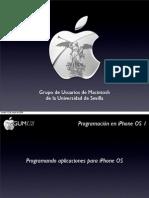 [GUMus] Programación para el iPhone 1