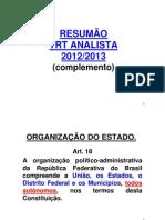 SILVEIRA  - AULÃO 22-01 - DIREITO CONSTITUCIONAL - RESUMAO ANALISTA TRT