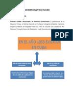 SISTEMA EDUCATIVO EN CUBA - MONOGRAFÍA