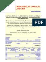 Catecismo Del Concilio de Lima