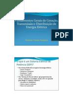 Aula 01 - Slides Sobre Sistemas Eletricos de Potencia
