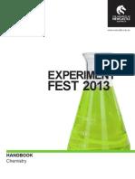 2013 Chemistry Booklet