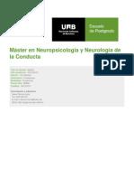 UAB Máster en Neuropsicología y Neurología de