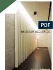 Basic of Acoustics