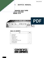 Onkyo Manual de Servicio