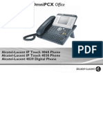 ENT PHONES IPTouch-4038-4068-4039Digital-OXOffice Manual 0907 ES