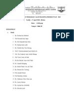 Minit MesyUarat Pemilihan Calon Biasiswa Persekutuan 2013