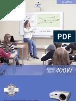 Epson 400W Education PT