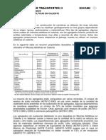 CALIDAD DE AGREGADOS PARA MEZCLAS ASFÁLTICAS EN CALIENTE