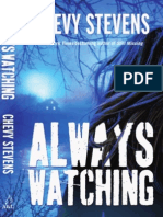 Chevy Stevens - Always Watching (Extract)