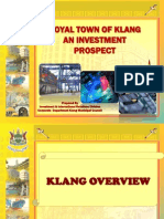 Investment Profile Klang District