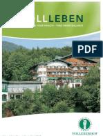 Vollererhof Spa Hotel Pamphlet
