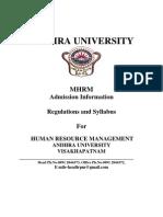 MHRM syllabus