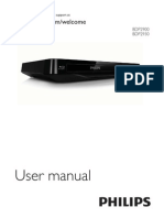 Philips Bdp2900 Operations Manual