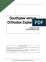 Southpaw vs Orthodox