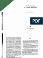 Broek - The Practical Use of Fracture Mechanics