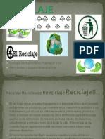 Presentacion Reciclaje Tic 2!