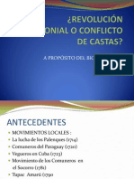 REVOLUCIÓN ANTICOLONIAL O CONFLICTO DE CASTAS