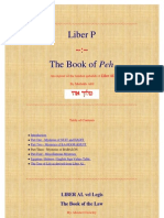 Liber P the Book of Peh