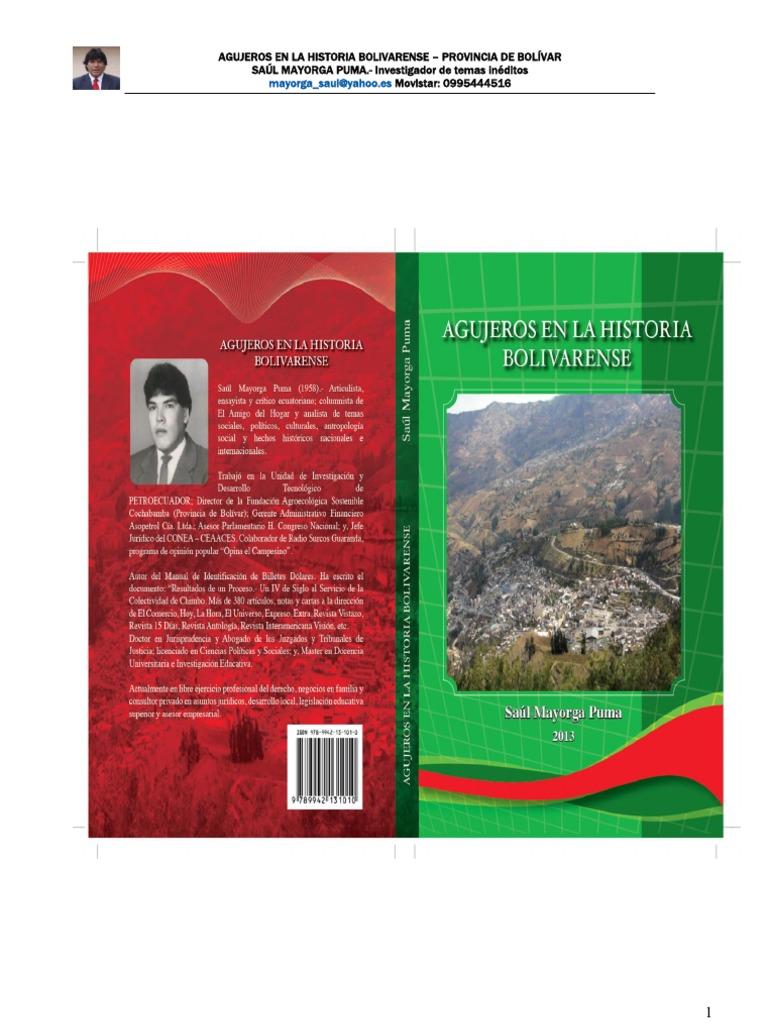 Agujeros en La Historia Bolivarense 178899bf4ad80
