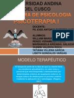 Modelo terapéutico humanista