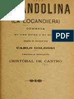 (Goldoni)Mirandolina