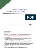 QualNet-OPNET-Comparison LB 06 06